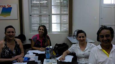 Foto: CREFITO-10 participou da reunião da Comissão Executiva do FETSUAS em Florianópolis representado pelo Vice-Presidente: Dr. Lourival Jaime Vieira Filho e Dra. Mirian Menel, Terapeuta Ocupacional representante do CREFITO-10 no FETSUAS.